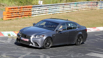 Lexus GS F spied yet again on the 'Ring