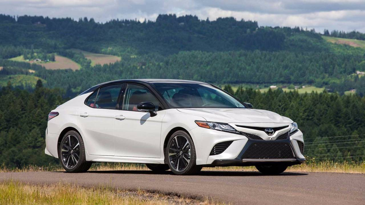 6. Toyota Camry: 387,081 Units