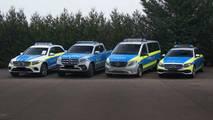 Mercedes polis araçları