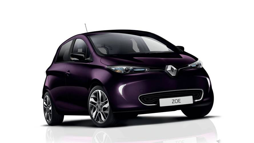 Renault Zoé version 2018