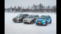 Subaru, la gamma a trazione integrale