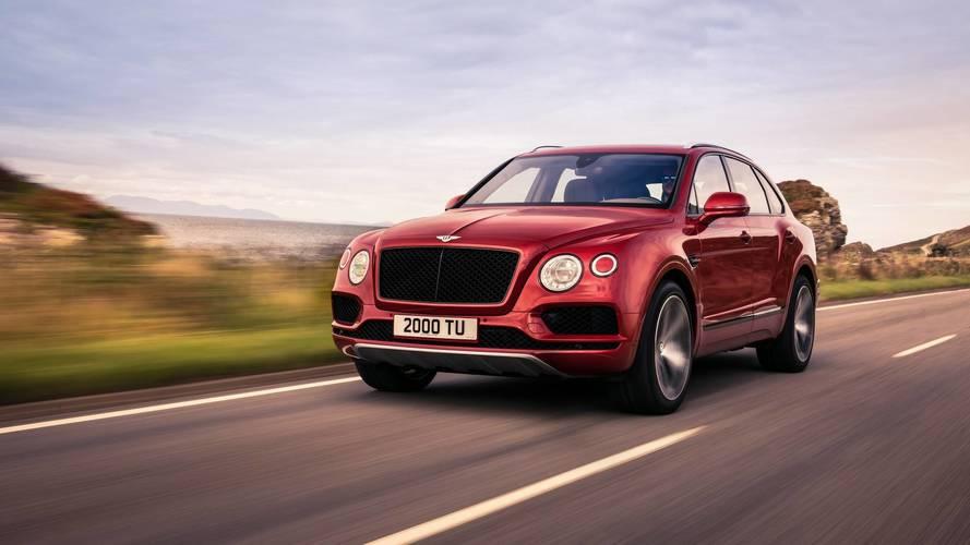 Bentley Bentayga, benzinli V8 motoruna kavuştu