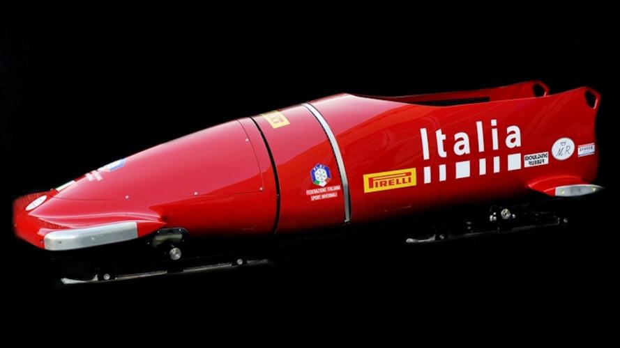 Ferrari, viene da Maranello il bob per l'Italia alle Olimpiadi 2018