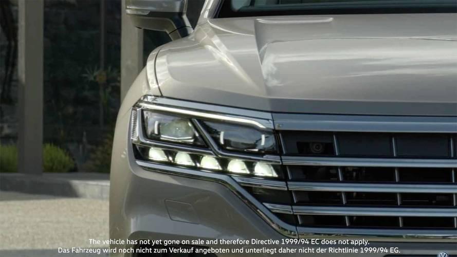 VIDÉO - Le nouveau Volkswagen Touareg ne se cache presque plus