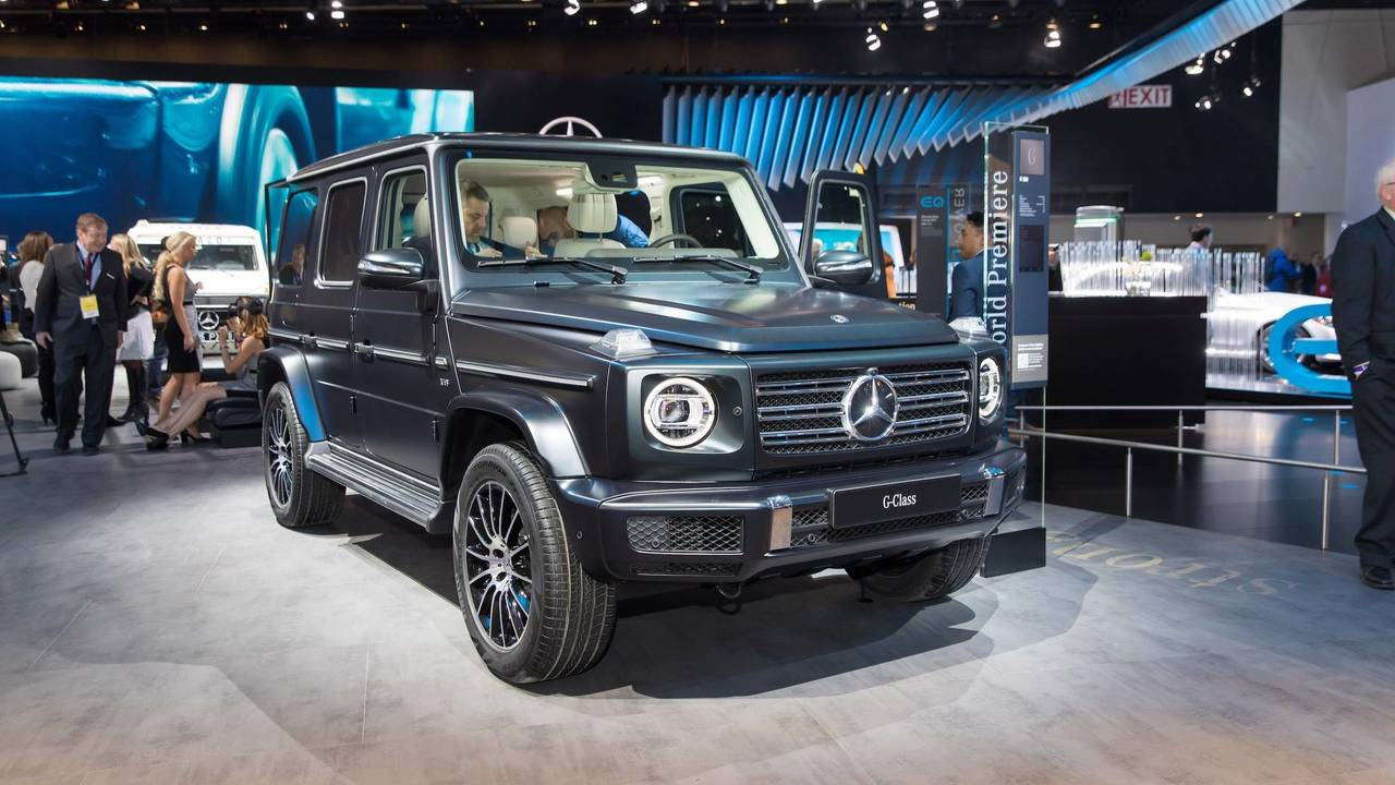 2019 mercedes g class is more amg than ever for Mercedes benz gclass