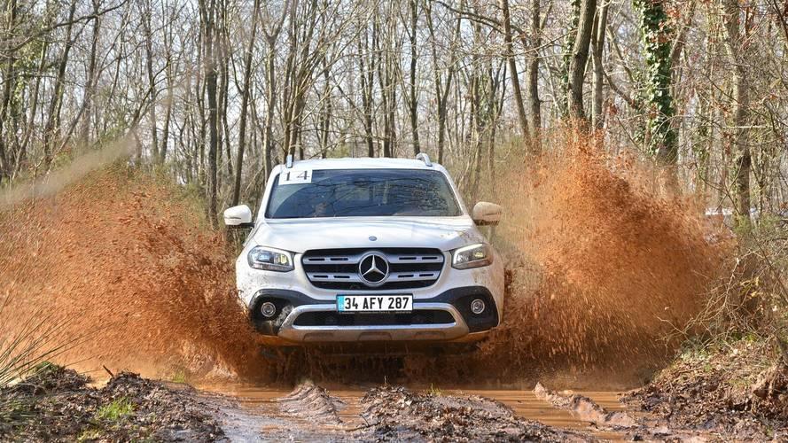 2018 Mercedes-Benz X 250d 4MATIC - Arazide neler yapabiliyor?