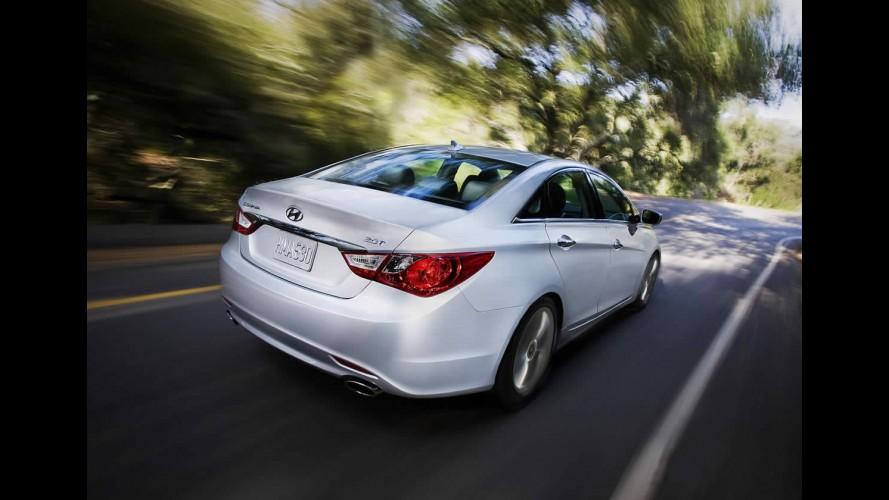 Salão de Nova York: Hyundai apresenta o Novo Sonata 2.0 Turbo (2.0T) 2011