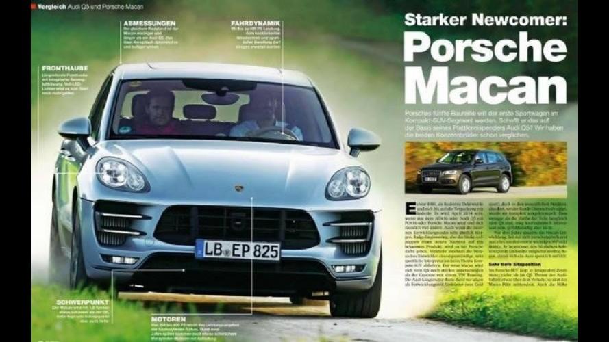 Que segredo? Porsche Macan é revelado por revista alemã