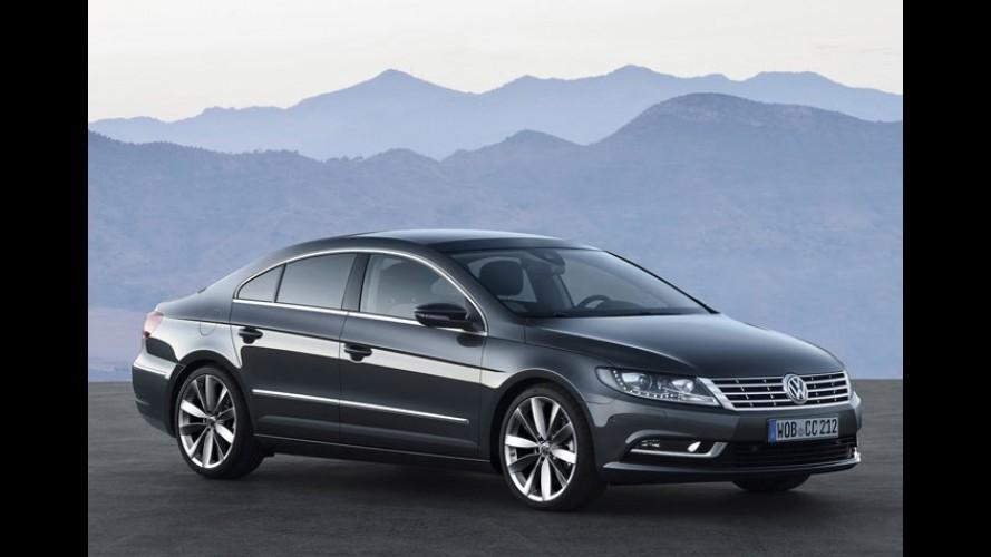 Volkswagen CC 2012 começa a ser vendido em fevereiro no mercado europeu
