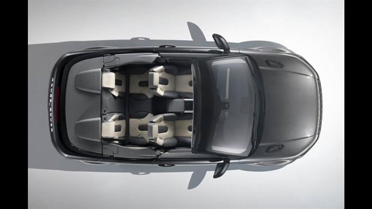 Range Rover Evoque Convertible Concept é revelado