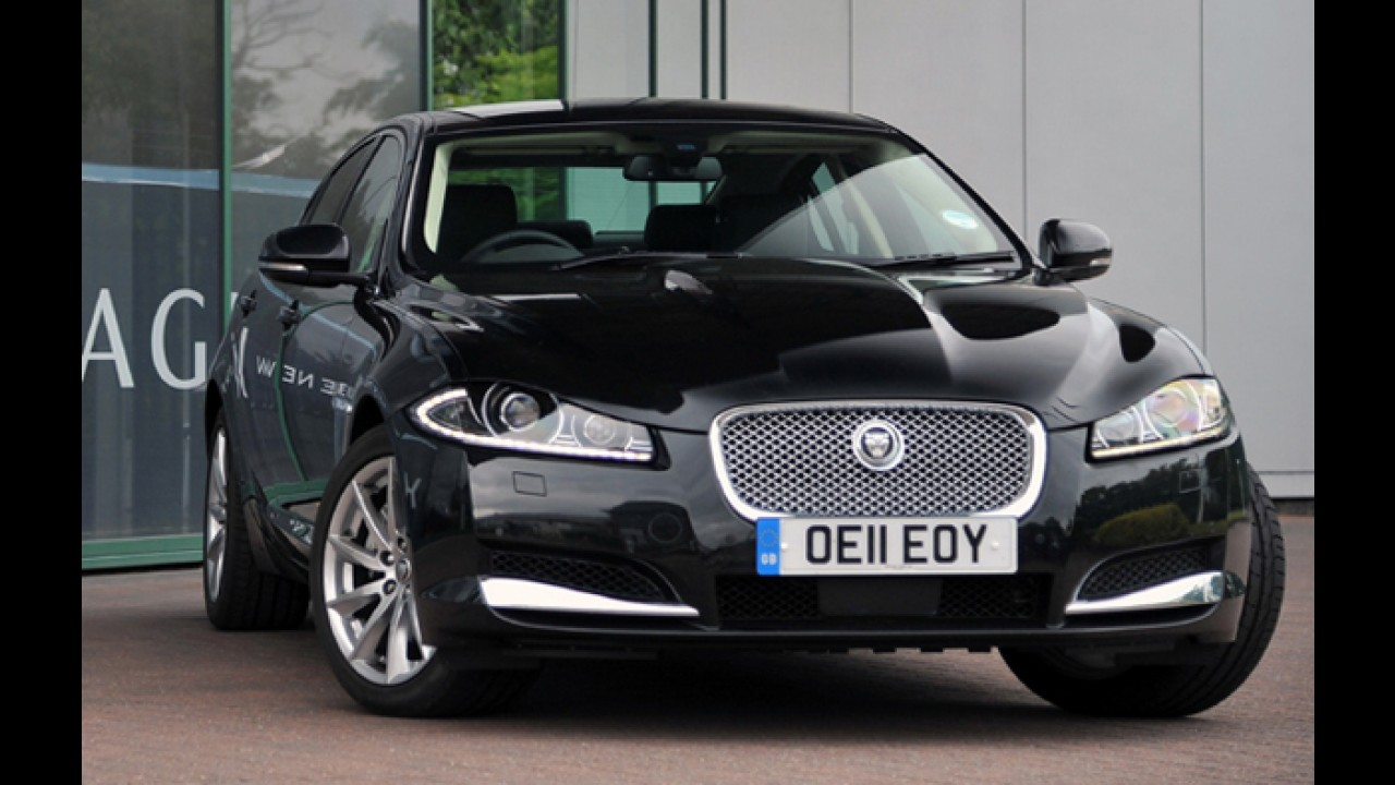 Jaguar anuncia recall de oito unidades do XF no Brasil