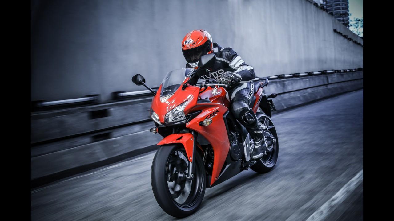 Vídeo: veja a nova Honda CBR 500R em ação na pista