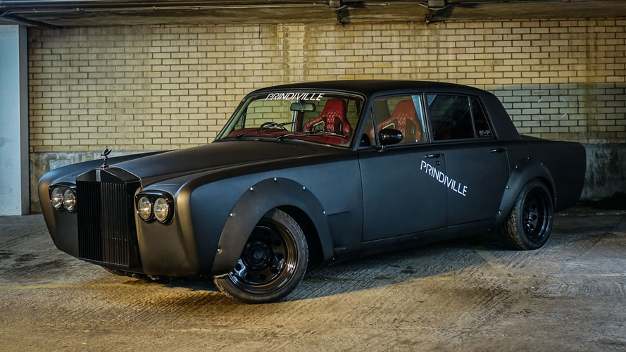 Evil Rolls-Royce Silver Shadow Drift Car Selling For $130k