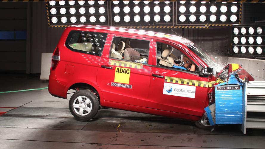 Chevrolet Enjoy Global NCAP tetlerinden sıfır aldı
