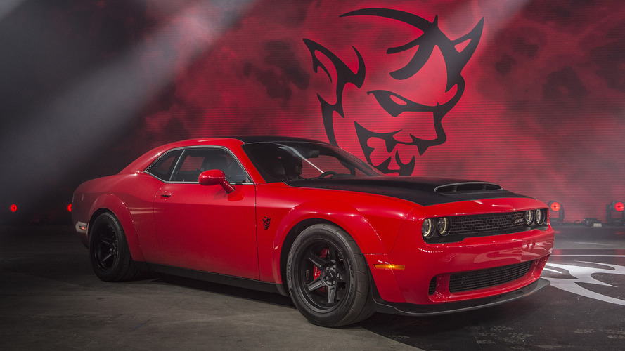 Drag makinesi: 2018 Dodge Challenger SRT Demon
