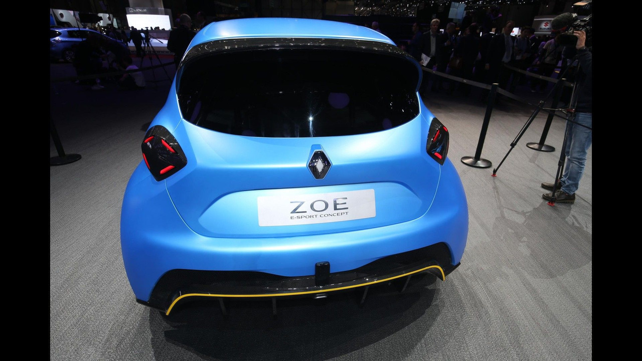 renault zoe e sport concept is an electric 460 hp pocket rocket. Black Bedroom Furniture Sets. Home Design Ideas