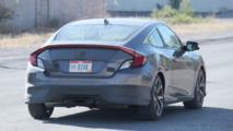 2017 Honda Civic Si Coupe spy photo