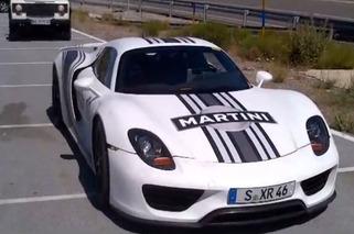 Spotted: Porsche 918 Spyder in the Wild