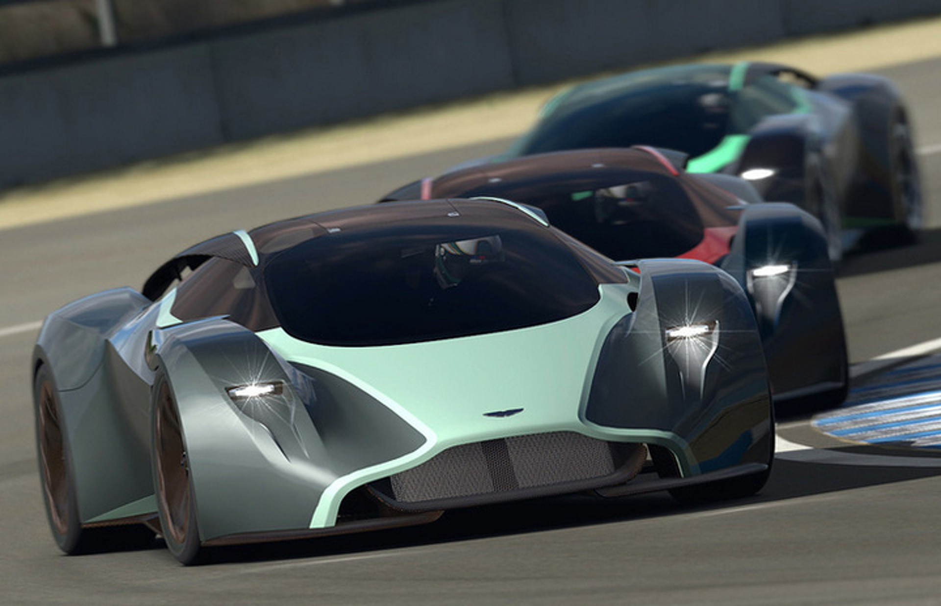 Aston Martin DP-100 Is a Fantastic, Digital Vision of a Future Supercar [w/Video]