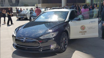 LAPD not impressed by ludicrous Tesla Model S police cruisers
