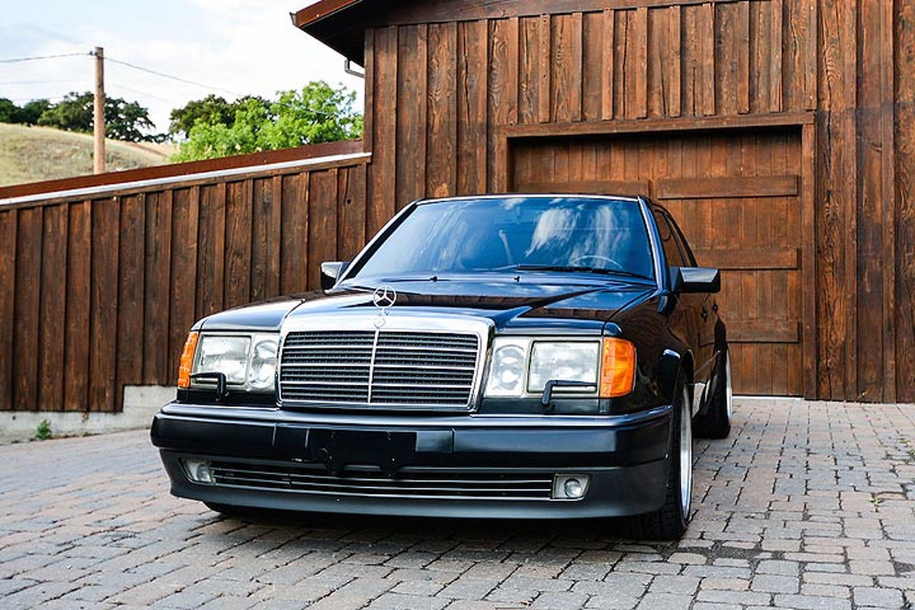 This Rare Mercedes 500E is the 'Benz that Porsche Built