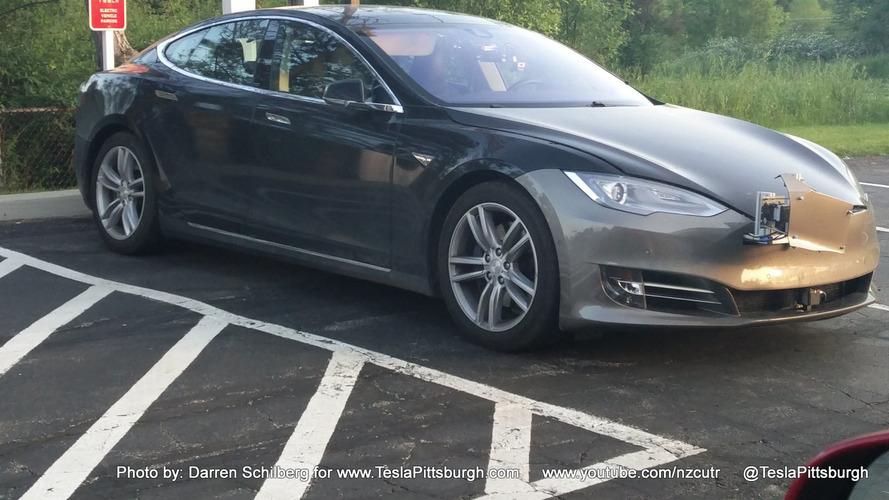 This Tesla Model S might have the next Autopilot evolution