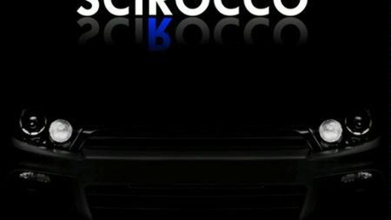 VW Scirocco R-Series Teaser?
