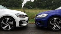 Golf GTI versus Golf R head to head