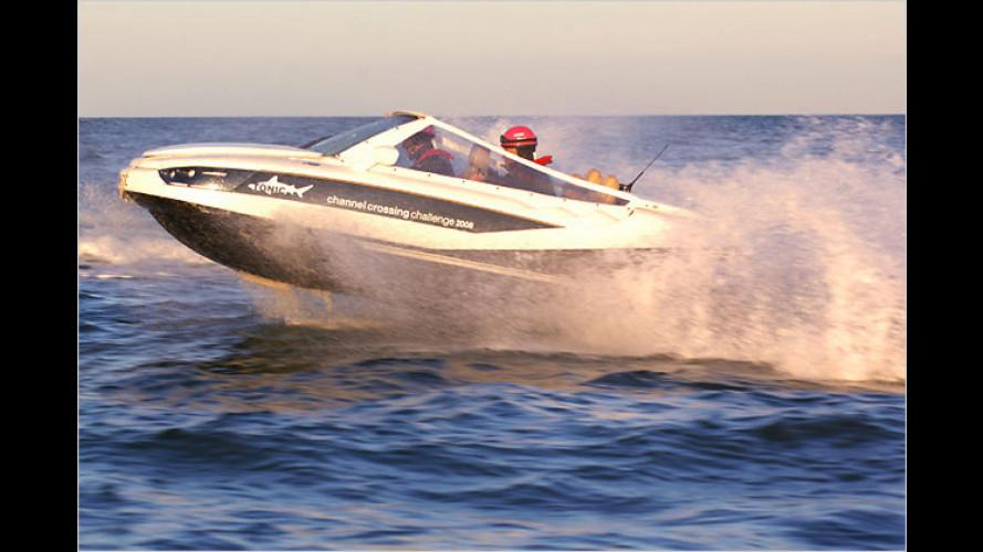 Ärmelkanal-Rekord: Mit neuem Auto übers Salz-Wasser