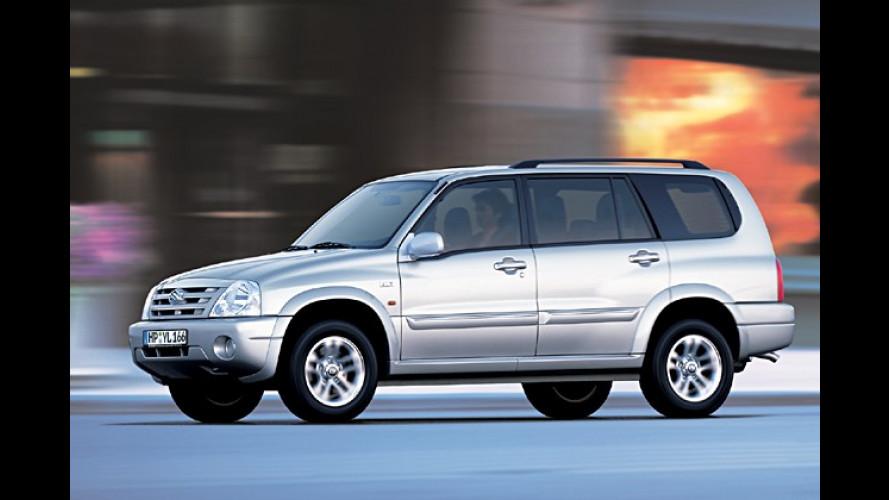 Suzuki rüstet auf: Grand Vitara XL-7 jetzt mit Diesel-Motor