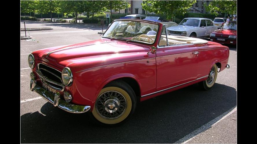 Zu Besuch im Peugeot-Museum: Erlebnisse hinterm Oldtimer-Steuer