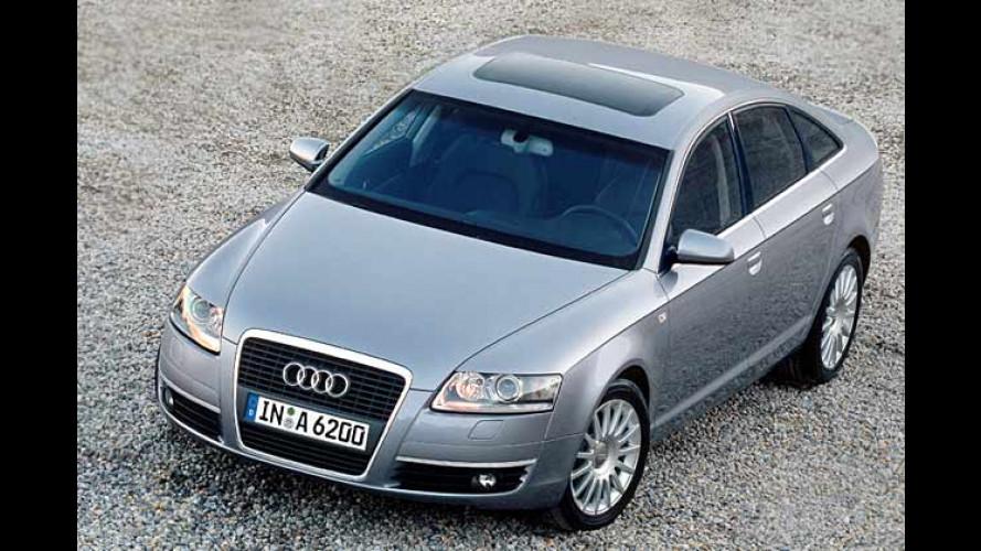 Neu beim Audi A6: Benzin-Direkteinspritzer mit Turbolader