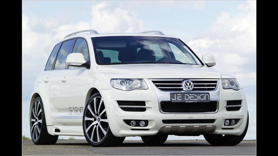 Breiter Gelände-Ballermann: VW Touareg von JE Design