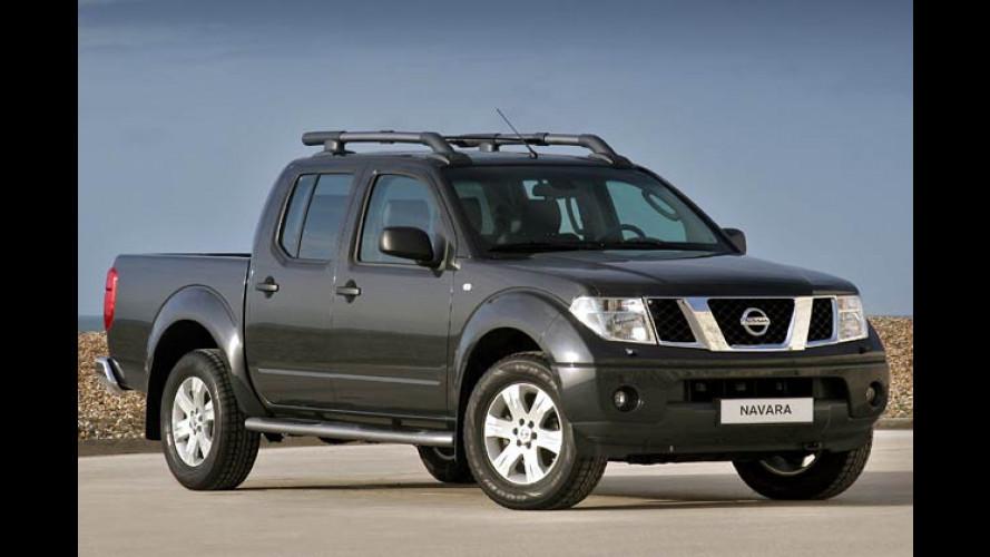 Nissan Pick-Up Navara: Pathfinder mit offener Ladefläche