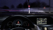 Mercedes wrong-way driver warning system 21.1.2013