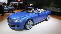 2013 Bentley GT Speed Convertible live in Detroit 14.1.2013