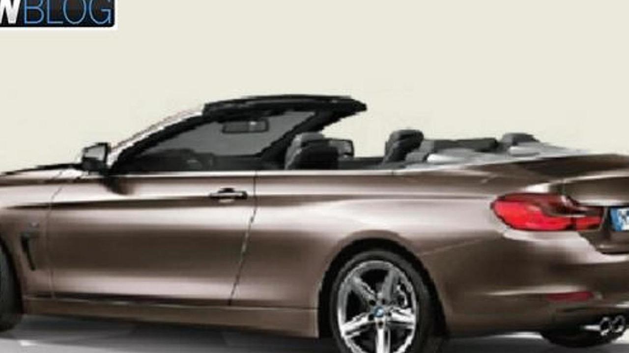 2014 BMW 4-Series Convertible (not official) / BMWBLOG