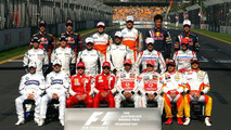 Drivers group picture, Australian Grand Prix 29.03.2009