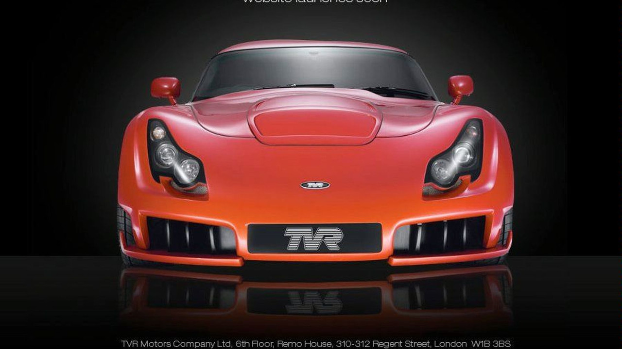 tvr.co.uk homepage screenshot, TVR Sagaris - 900 - 22.02.2010