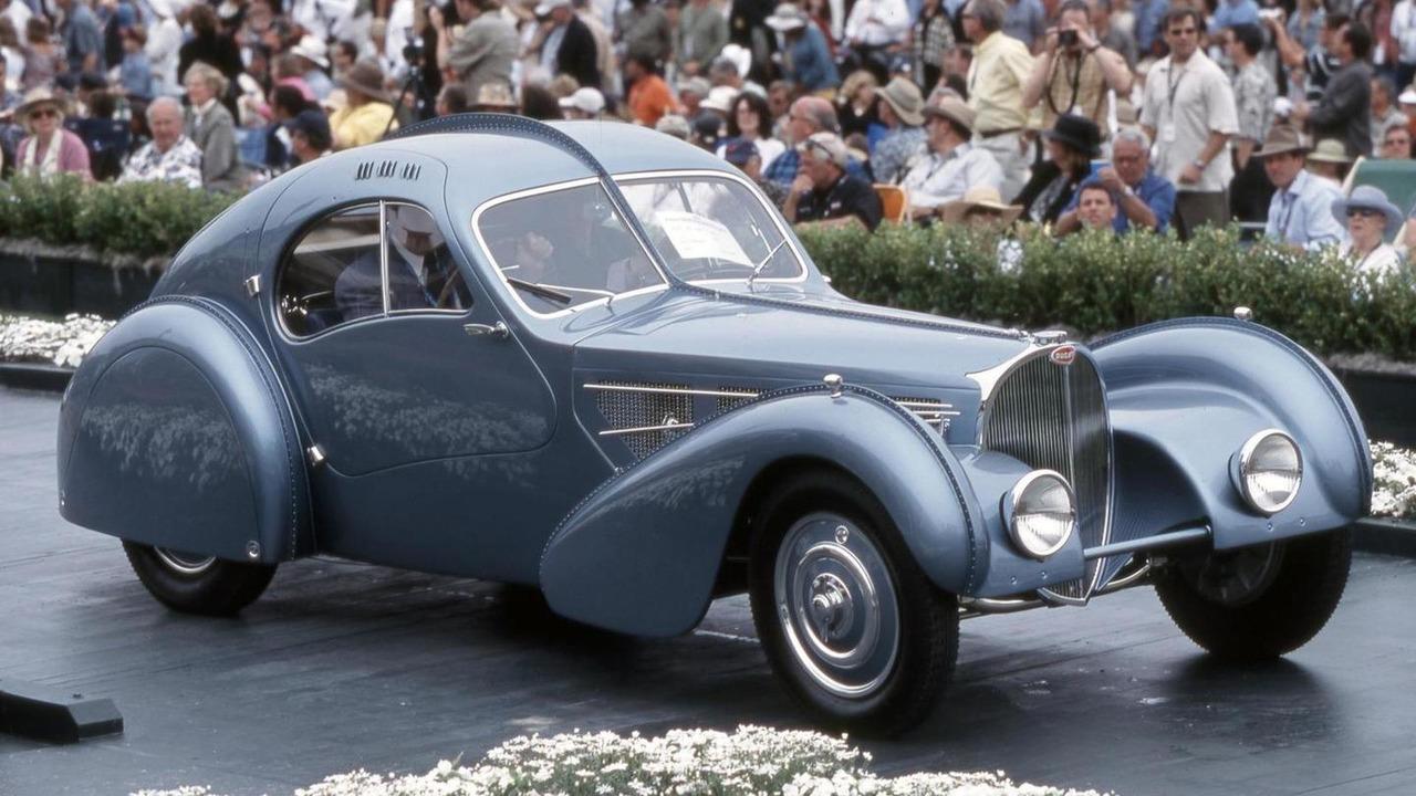 1936 Bugatti 57SC Atlantic, Pebble Beach Concours d'Elegance, California, 2003, 1600, 06.05.2010