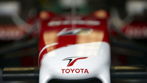 Pansonic Toyota Racing TF109 nose cone