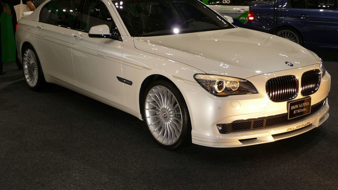 BMW ALPINA B7 Bi-Turbo LWB World Debut in Tokyo