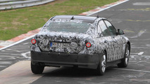 2012 BMW 3-series testing on Nurburgring
