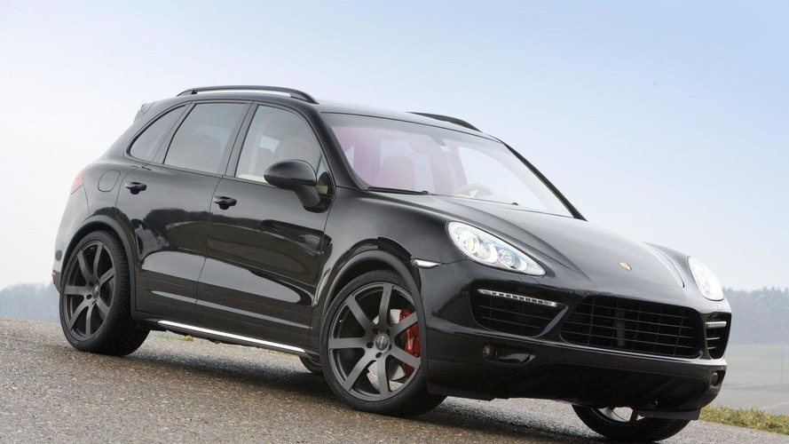 Sportec SP580 program for the Porsche Cayenne II Turbo
