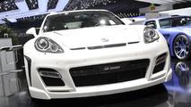 Fab Design Porsche Panamera live in Geneva 02.03.2011