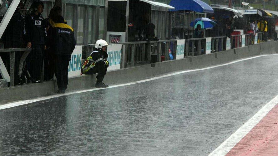Rain forecast for whole Belgian GP weekend