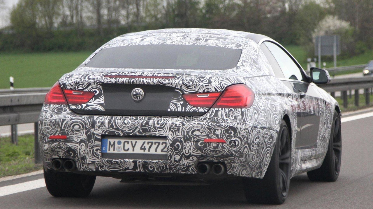 2012 BMW M6 Coupe and Cabrio spied 18.04.2011
