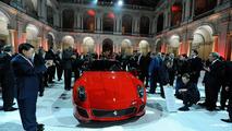 Ferrari 599 GTO official videos at Mugello circuit