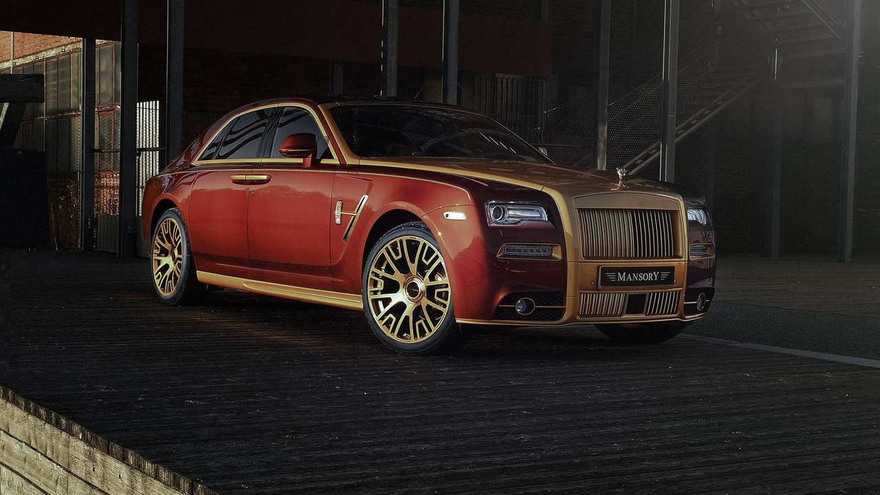 Rolls-Royce Ghost Series II by Mansory