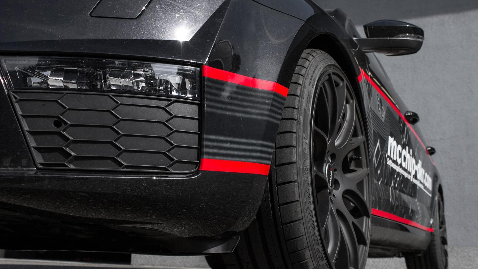 Чёрные матовые колёса Skoda Octavia Combi vRS